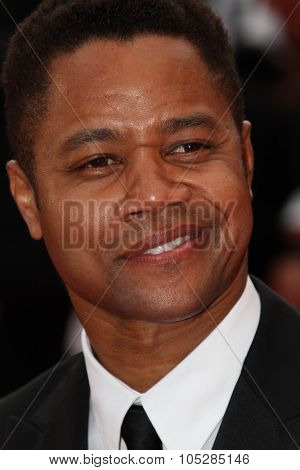 CANNES, FRANCE - MAY 12: Cuba Gooding Jr. attend the 'Robin Hood' Premiere at the Palais des Festivals during the 63rd Cannes Film Festival on May 12, 2010 in Cannes, France
