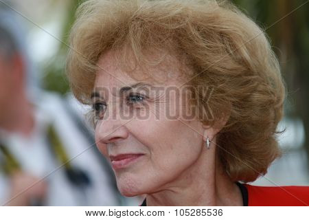 CANNES, FRANCE - MAY 15: Marisa Paredes attends the 'Homage To The Spanish Cinema' photocall at the Palais des Festivals during the 63rd  Cannes Film Festival on May 15, 2010 in Cannes, France.