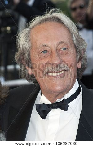 CANNES, FRANCE - MAY 28: Actor Jean Rochefort attends the premiere of 'Transylvania' during the 59th International Cannes Film Festival closing ceremony at the Palais May 28, 2006 in Cannes, France