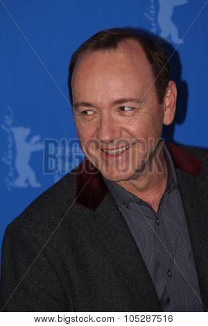 BERLIN, GERMANY - FEBRUARY 11: Actor Kevin Spacey attends the 'Margin Call' Photocall during day two of the 61st Berlin  Film Festival at the Grand Hyatt on February 11, 2011 in Berlin, Germany.