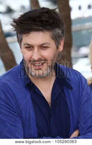 CANNES, FRANCE - MAY 21: Director Christophe Honore attends the 'Les Bien-Aimes' Photocall at Palais des Festivals during the 64th Annual Cannes Film Festival on May 21, 2011 in Cannes, France
