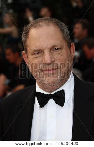 CANNES, FRANCE - MAY 22: Producer Harvey Weinstein attends the 'Les Bien-Aimes' premiere at the Palais des Festivals during the 64th Cannes Film Festival on May 22, 2011 in Cannes, France
