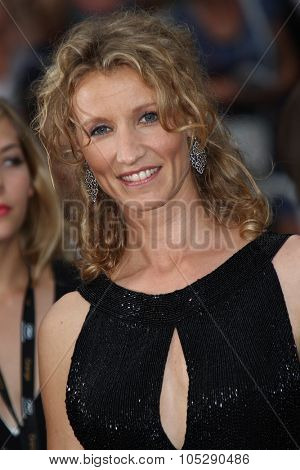 CANNES, FRANCE - MAY 22: Alexandra Lamy attends the 'Les Bien-Aimes' premiere at the Palais des Festivals during the 64th Cannes Film Festival on May 22, 2011 in Cannes, France