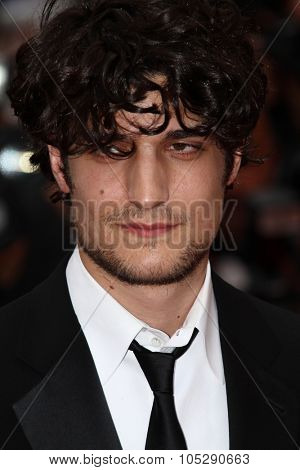 CANNES, FRANCE - MAY 22: Louis Garrel attends the 'Les Bien-Aimes' premiere at the Palais des Festivals during the 64th Cannes Film Festival on May 22, 2011 in Cannes, France