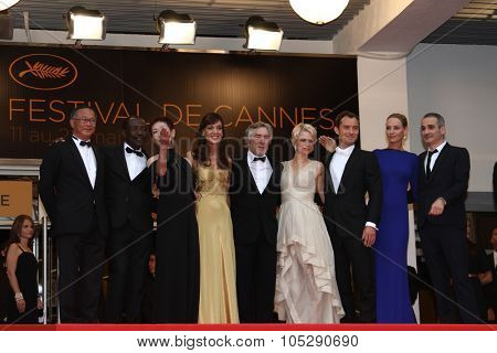 CANNES, FRANCE - MAY 22: Jury Members attends the 'Les Bien-Aimes' premiere at the Palais des Festivals during the 64th Cannes Film Festival at Palais des Festivals on May 22, 2011 in Cannes, France.