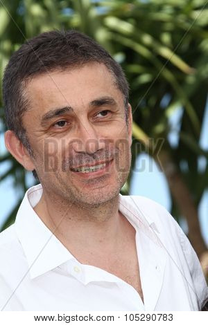 CANNES, FRANCE - MAY 21: Director Nuri Bilge Ceylan attends the 'Bir Zamanlar Anadolu'Da' Photocall at Palais des Festivals during the 64th  Cannes Film Festival on May 21, 2011 in Cannes, France