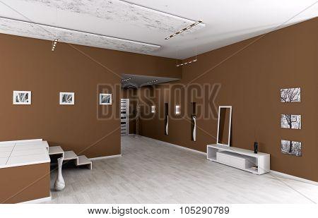 Interior Of Modern Entrance Hall
