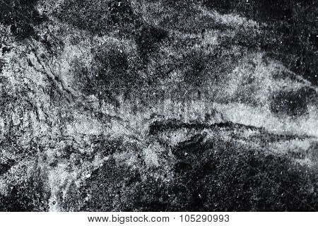 Oil On Water Black And White Abstract Fine Art Photograph