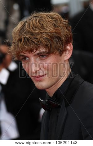 CANNES, FRANCE - MAY 13: Niels Schneider   arrives at the 'Habemus Papam' premiere during the 64th Annual Cannes Film Festival at the Palais des Festivals on May 13, 2011 in Cannes, France