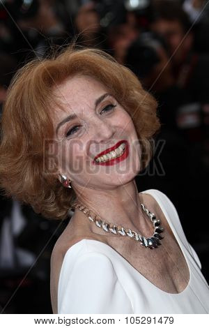 CANNES, FRANCE - MAY 19:  Marisa Paredes  attends the 'The Skin I Live In' premiere at the Palais  during the 64th Cannes Festival on May 19, 2011 in Cannes, France