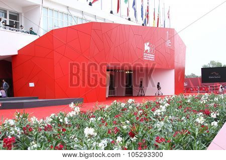 VENICE, ITALY - SEPTEMBER 08: The Palace of Cinema  during the 68th Venice Film Festival, Sept 08  2011 in Venice, Italy.