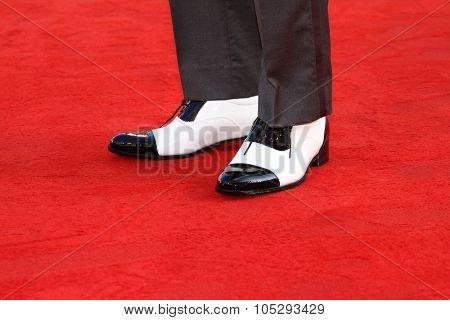 VENICE, ITALY - SEPTEMBER 05: Actor Andy Lau (Shoe Detail) attends the 'Tao Jie' premiere at the Palazzo del Cinema during the 68th Venice Film Festival on September 5, 2011 in Venice, Italy