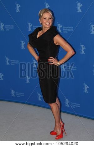 BERLIN, GERMANY - FEBRUARY 13: Actress Katherine LaNasa attends the 'Jayne Mansfield's Car' Photocall during of the 62 Berlin  Film Festival at the Grand Hyatt on February 13, 2012 in Berlin, Germany