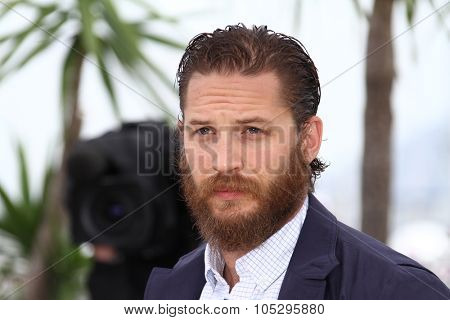 CANNES, FRANCE - MAY 19: Tom Hardy attends the 'Lawless' Photocall during the 65th Annual Cannes Film Festival at Palais des Festivals on May 19, 2012 in Cannes, France.