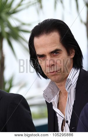 CANNES, FRANCE - MAY 19: Screenwriter Nick Cave attends the 'Lawless' Photocall during the 65th Annual Cannes Film Festival at Palais des Festivals on May 19, 2012 in Cannes, France.