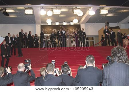 CANNES, FRANCE - MAY 19: A general view of atmosphere on during the 65th Annual Cannes Film Festival on May 19, 2012 in Cannes, France.
