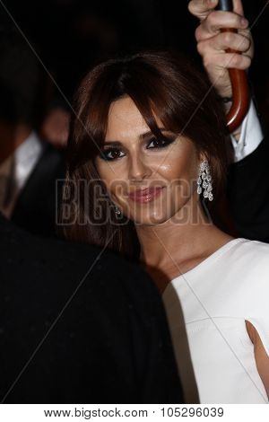 CANNES, FRANCE - MAY 20: Cheryl Cole attends the 'Amour' premiere during the 65th Annual Cannes Film Festival at Palais des Festivals on May 20, 2012 in Cannes, France.