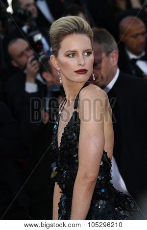 CANNES, FRANCE - MAY 22:  Karolina Kurkova attends the 'Killing Them Softly' Premiere during 65th Annual Cannes Film Festival at Palais des Festivals on May 22, 2012 in Cannes, France.
