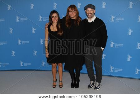 BERLIN, GERMANY - FEBRUARY 10:  Isabel Coixet, Javier Camara attend the 'Yesterday Never Ends' Photocall during the 63rd Berlinale Festival at the Hyatt Hotel on February 10, 2013 in Berlin, Germany.