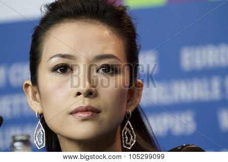 BERLIN, GERMANY - FEBRUARY 07: Zhang Ziyi attends 'The Grandmaster' Press Conference during the 63rd Berlinale Film Festival at the Grand Hyatt on February 7, 2013 in Berlin, Germany.