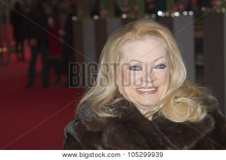 BERLIN, GERMANY - FEBRUARY 12: Actress Anita Ekberg attends the 'Closed Curtain' Premiere during the 63rd Berlinale l Film Festival at Berlinale Palast on February 12, 2013 in Berlin, Germany.