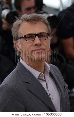 CANNES, FRANCE - MAY 15: Christoph Waltz attends the Jury Photocall during the 66th Annual Cannes Film Festival at the Palais des Festivals on May 15, 2013 in Cannes, France.