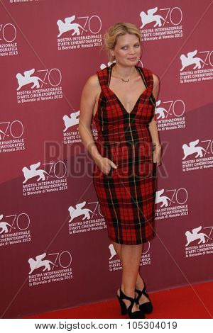 VENICE, ITALY - SEPTEMBER 02: Melanie Thierry  attends 'The Zero Theorem' Photocall during the 70th Venice International Film Festival at the Palazzo del Casino on September 2, 2013 in Venice, Italy