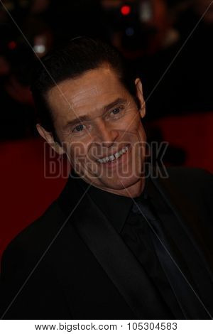 BERLIN, GERMANY - FEBRUARY 06: Willem Dafoe  attends 'The Grand Budapest Hotel' Premiere during the 64th Berlinale Film Festival at Palast on February 6, 2014 in Berlin, Germany