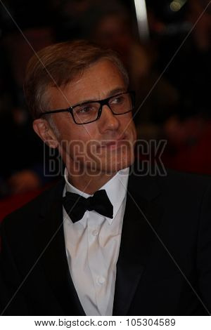 BERLIN, GERMANY - FEBRUARY 06:  Christoph Waltz   attends 'The Grand Budapest Hotel' Premiere during the 64th Berlinale Film Festival at Palast on February 6, 2014 in Berlin, Germany