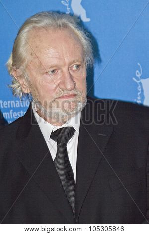 BERLIN, GERMANY - FEBRUARY 12: Niels Arestrup attends the 'Diplomatie' photocall during 64th Berlinale Film Festival at Grand Hyatt Hotel on February 12, 2014 in Berlin, Germany.