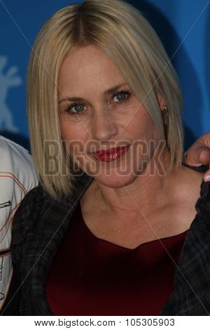 BERLIN, GERMANY - FEBRUARY 13: Patricia Arquette attends the 'Boyhood' photocall during 64th Berlinale International Film Festival at Grand Hyatt Hotel on February 13, 2014 in Berlin, Germany.