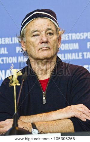 BERLIN, GERMANY - FEBRUARY 08: Bill Murray attends 'The Monuments Men' press conference during 64th Berlinale Film Festival at Grand Hyatt Hotel on February 8, 2014 in Berlin, Germany.