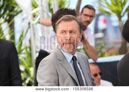CANNES, FRANCE - MAY 14: Tim Roth attends the 'Grace of Monaco' photocall at the 67th Annual Cannes Film Festival on May 14, 2014 in Cannes, France.