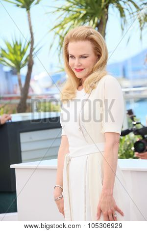 CANNES, FRANCE - MAY 14: Actress Nicole Kidman attends the 'Grace of Monaco' photocall during the 67th Annual Cannes Film Festival on May 14, 2014 in Cannes, France.