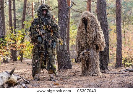 Two Snipers In The Forest