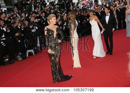 CANNES, FRANCE - MAY 16: Hofit Golan; Victoria Bonya  attend the 'How To Train Your Dragon 2' premiere during the 67th Annual Cannes Film Festival on May 16, 2014 in Cannes, France.
