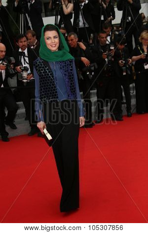 CANNES, FRANCE - MAY 22: Leila Hatami attends the 'Jimmy's Hall' premiere during the 67th Annual Cannes Film Festival on May 22, 2014 in Cannes, France.