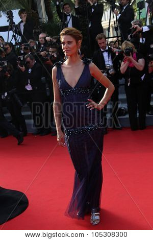 CANNES, FRANCE - MAY 23: Bianca Balti  attend the 'Clouds Of Sils Maria' premiere at the 67th Annual Cannes Film Festival on May 23, 2014 in Cannes, France.