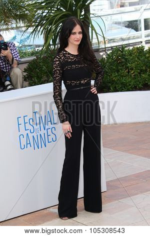 CANNES, FRANCE - MAY 17: Actress Eva Green attends the 'The Salvation' photocall at the 67th Annual Cannes Film Festival on May 17, 2014 in Cannes, France.