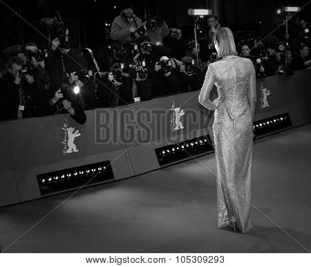 BERLIN, GERMANY - FEBRUARY 6: A general view of atmosphere the 'Aloft' premiere during 64th Berlinale Festival at Berlinale Palast on February 6, 2014 in Berlin, Germany.