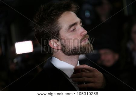 BERLIN, GERMANY - FEBRUARY 09: Robert Pattinson attends the 'Life' premiere during the 65th Berlinale International Film Festival at Zoo Palast on February 9, 2015 in Berlin, Germany.