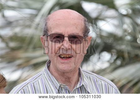 CANNES, FRANCE - MAY 13: Manoel de Oliveira attends 'The Strange Case Of Angelica' Photocall held at the Palais Des Festivals during the 63rd  Cannes Film Festival on May 13, 2010 in Cannes, France.
