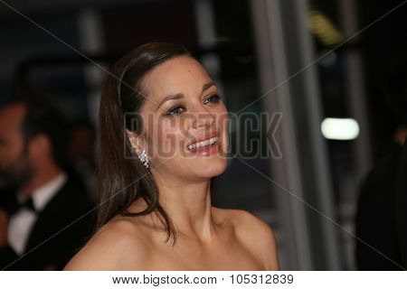 Marion Cotillard attends the 'Macbeth' Premiere during the 68th annual Cannes Film Festival on May 23, 2015 in Cannes, France.
