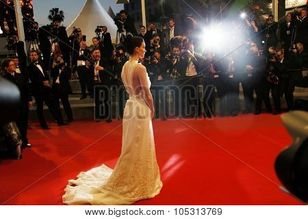 Rooney Mara  attends the 'Carol' Premiere during the 68th annual Cannes Film Festival on May 17, 2015 in Cannes, France.