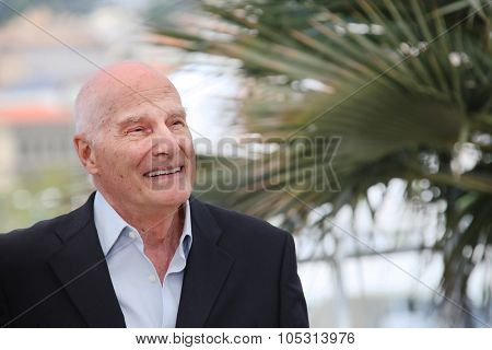 Barbet Schroeder  attends the 'Amnesia' Photocall during the 68th annual Cannes Film Festival on May 19, 2015 in Cannes, France.