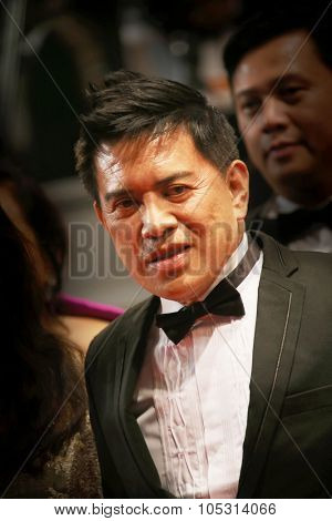 Brillante Mendoza attends the Premiere of 'Marguerite And Julien' during the 68th annual Cannes Film Festival on May 19, 2015 in Cannes, France.