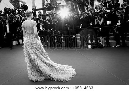 Naomi Watts attends the opening ceremony and 'La Tete Haute' premiere during the 68th annual Cannes Film Festival on May 13, 2015 in Cannes, France.
