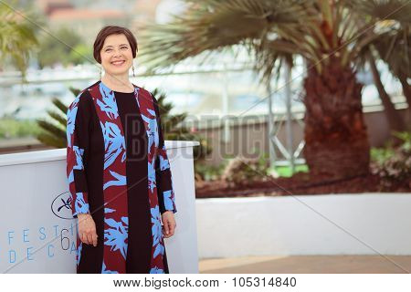 Isabella Rossellini attends the 'Jury Un Certain Regard' photocall during the 68th annual Cannes Film Festival on May 14, 2015 in Cannes, France.