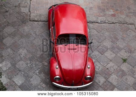Volkswagen Kaefer Top View