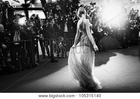 Atmosphere attends the 'Carol' Premiere during the 68th annual Cannes Film Festival on May 17, 2015 in Cannes, France